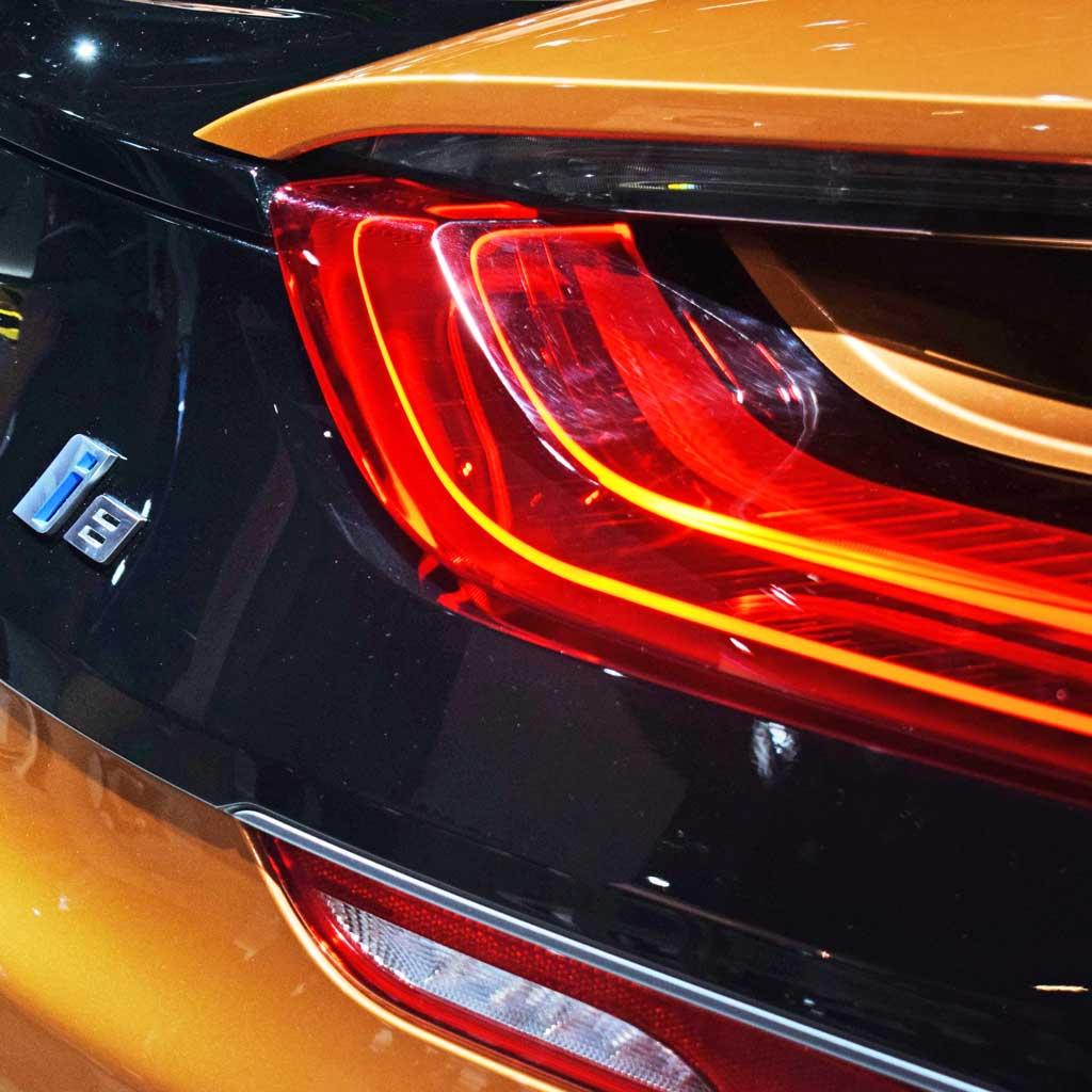 BMW i8 Lampe Heckleuchte Licht