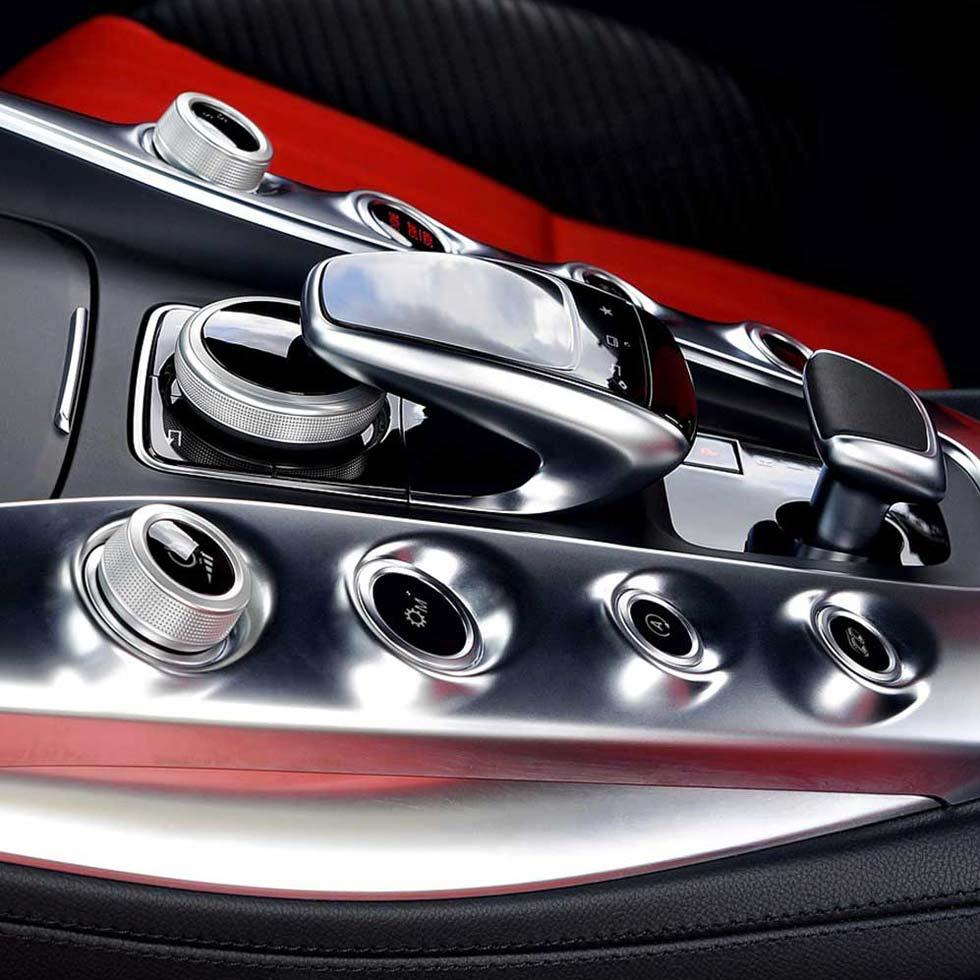 Detail Auto Cockpit Schaltung Automatik Mercedes-Benz Interior