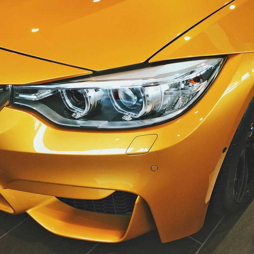BMW Front Lampe Licht Detail KAUFE ALLE AUTOS SCHWEIZ