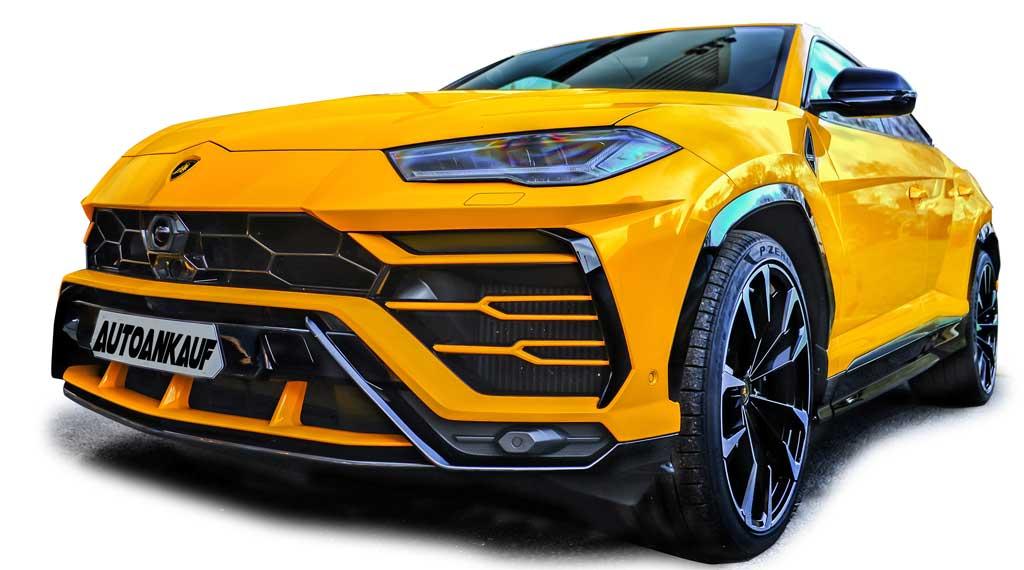 Lamborghini Urus gelb KAUFE ALLE AUTOS SCHWEIZ