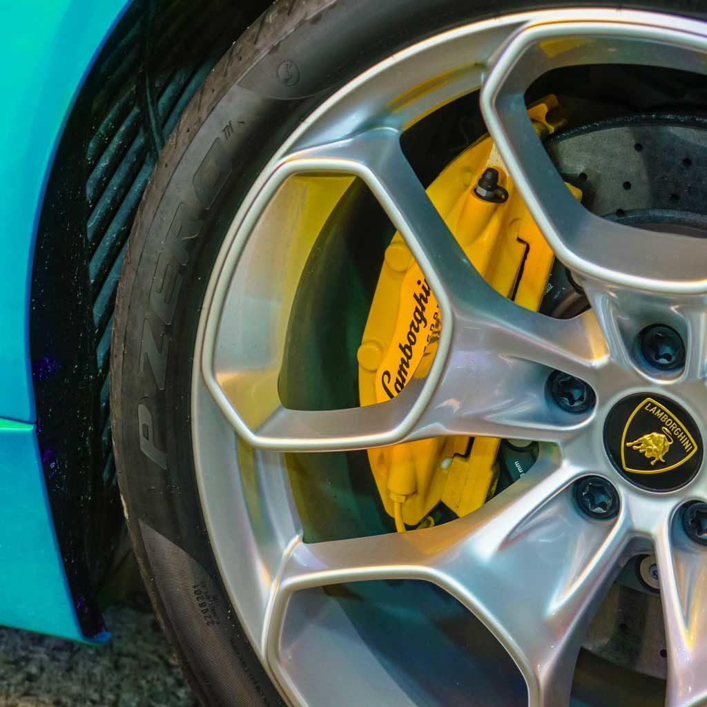 Lamborghini Sportscar Felgen Reifen Rad Wheel