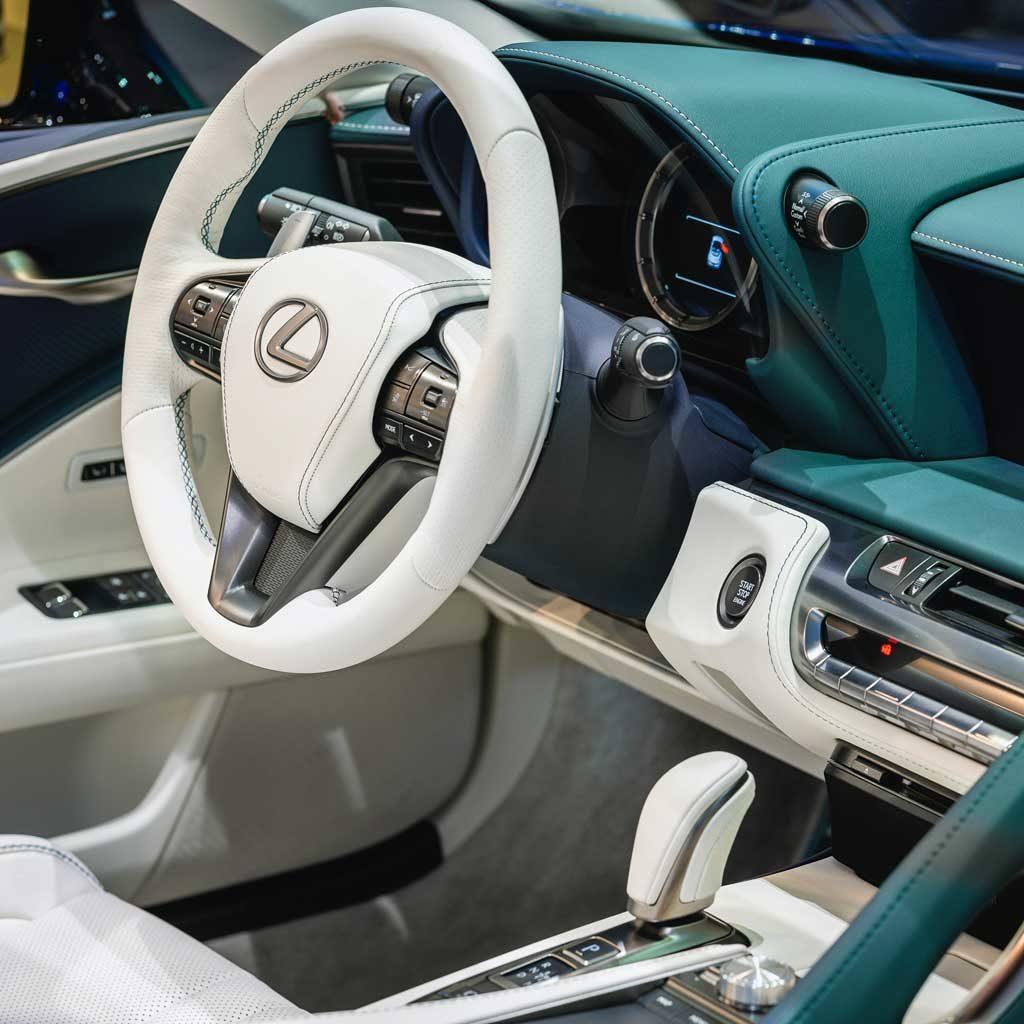 Lexus Cockpit Armaturen